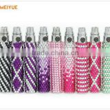 ecig interchangeable batteryof colorfull 1100mah ego passthrough battery