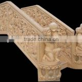 Natural Carved Stone Baluster Handrail