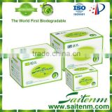 Super soft natural antimicrobial antibacterial brand name sanitary napkin with high quality