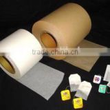 China factory import Germany machinery to produce high quality non-heat sealing filter paper for tea bag.