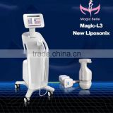 50 / 60Hz CE Certificated!! HIFU Slimming 4MHZ Machine Body Shaping Liposonix Machine With FDA Face Lifting