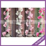1.8m pink and white beautiful artificial cherry blossom vine wholesale