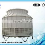 China Good quality cooling effect steel frame round shape counter flow 200-1000 tons/h FRP water cooling tower