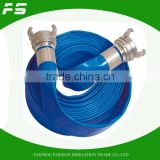 Flexible Agricultural Lay Flat Water Irrigation Hoses With Coupling
