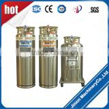 ydz self-pressurized tank used in liquid nitrogen, liquid oxygen of liquid supplement
