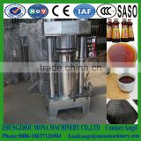 New type hydraulic cannabis oil press machine/mini oil press machine/Sesame oil extruder