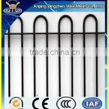 High quality best price Used Temporary fence of Bow Top Railing for temporary privacy fencing