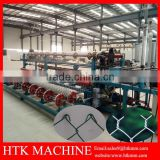 China Golden Supplier Fully Automatic Chain Link Fence Making Machine/ Diamond Wire Mesh Machine
