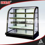 Glass Bread Bakery Display Shelves/bread bakery displaybakery counter displays