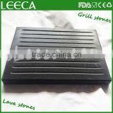 Hot stone black lava stone plate, lava stone for cook