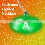 Lighted Christmas Necklace