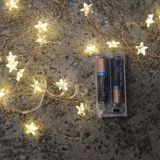 warm white star blinking not on the high street wellfaith factory copper string light supplier holiday christmas deco