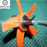 Fan blade model prototypes , UV coating ,Matel, small stype