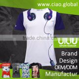 Stock sublimation t shirt coolmax xxxxl bangkok clothing wholesale importers