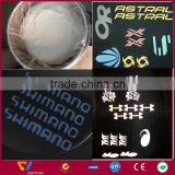 high visible dark grey aluminized coated retro reflective paint glass beads