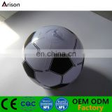 Soccer football printed inflatable beach ball for kids' water toys
