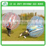 Crazy PVC/TPU human inflatable bumper bubble ball,body inflation ball suit,adult bumper ball