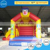 TOP inflatable bouncy castle slide trampoline for kids