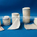 White or flesh non clip two or non blue lines Medical elastic crepe bandage