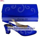 Royal blue Wedding shoes and bags /party shoes and matching bags/dress shoes and matching bags