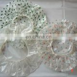 disposable plastic adult shower cap