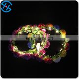 2017 Popular led light hair accessories flower