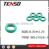 Tenso Fuel Injector O-rings Fuel Injector Repair Kits Viton NBR Oring 21026-3 8.00*3.25