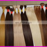 New!!Hot sale factory cheap price high quality 100% human remy 26 inch human hair extensions blonde
