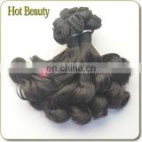 Raw beauty virgin brazilian hair bundle---New coming :7A spiral curl hair weft