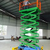 Small Car Lift 10m Inground  Movable Scissor Lift