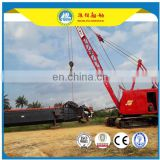 small model Highling river cutter suction dredger (solid sand capcity 160m3/h,depth 8 m)
