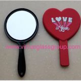 0.7mm1.1mm1.5mm 1.8mm round Magnifying mirror for makeup box