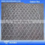 Hot Sale Steel Hexagonal Gabion Box For Sea Wall, Protect Wall Of Gabion Box, High Quality Rust Proof Galfan Welded Gabion Box