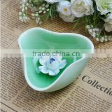 Jingdezhen Ceramic Electric Incense Burner for Office and Living Room