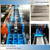 Light Gauge Steel Corner Protector Cold Roll Forming Line/metal steel l shaped angle light steel frame making machine