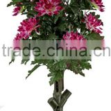 Fabric,PU/Plastic/Fabric/Rubber ect Material and Flowers Plant Type artificial flowers for sale