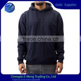 Wholsale Mens Plain Blue Pullover Hoody with High Quality                                                                                                         Supplier's Choice
