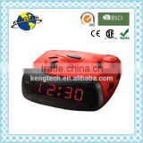 RETRO DESIGN FACTORY PRICE SELLING PLL ALARM CLOCK RADIO
