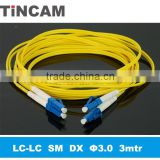 LC to LC Duplex SM Patch Cord at good price,LSZH Optical Fiber Patch Cord of Occident quality