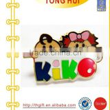 Smart Cartoon KIKO Logo Hard enamel pin