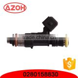 Car engine fuel systems auto parts fuel injector oil nozzle OEM. 0280158830 good performance injector nozzles