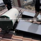 Stainless steel/enamel Solar Water Heater System with good quality of assistant tank