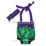Wholesale Kids Crochet Bikini swimwear 2016 Girls Mermaid Tail For Swimming