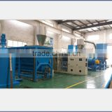 High efficient PET bottle recycling crushing washing and drying machine/hot washing machine
