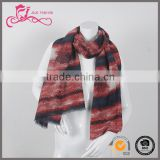 Wholesale new style long soft polyester new model cotton and polyester fashionable scarf///