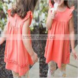 wholesale ruffle tunic beautiful baby girl summer dress baby dress pictures                                                                         Quality Choice