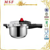 CE SGS LFGB certificate non electronic pressure cooker with silicon rubber safety ring safety silicon valve MSF-3790