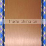 0.45mm Copper wire drawing sublimation aluminum sheet