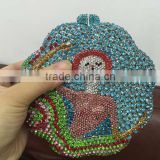 wholesale luxury crystal and rhinestone evening clutch purses and handbags for women