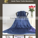 Brand New Ultra Soft Luxury blue Throw For All Sizes Double Velvet Solid flannel Sherpa Fleece Double Plush Blanket